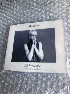 Madonna Cd Single - I'll Remember