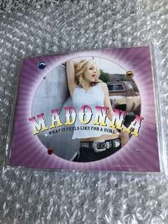 Madonna Cd Single - What It Feels Like For A Girl