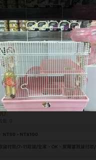🚚 出清全新鼠🐭籠(粉色,藍色)