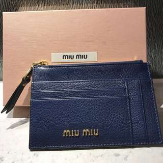 Miu Miu Card Holder Wallet