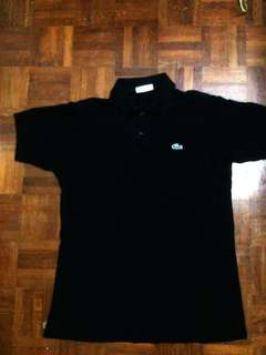 Chemise Lacoste ( Black polo shirt)