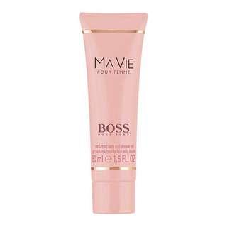HUGO BOSS Ma Vie Pour Femme (for Women) Perfumed Bath And Shower Gel 50ml