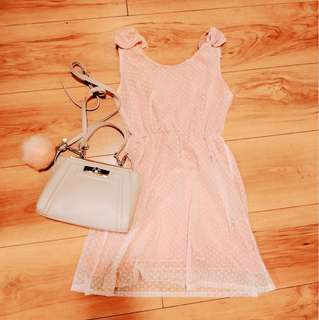 Baby pink dress 💕
