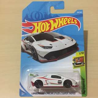 Hot Wheels 150/365 1/10 HW Exotics Lamborghini Huracan LP 620-2 Trofeo