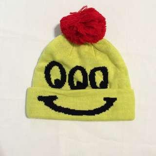 Lazy oaf happy sad bobble hat 可愛 帽子