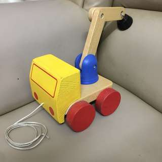 📌REPRICE‼️‼️Wood Track pulling toy