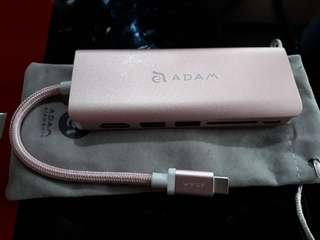 ADAM USB C Hub Type C  6 IN 1