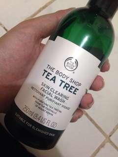 Tea tree facial wash tbs 250ml