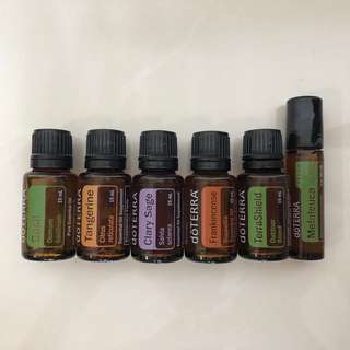 Brand New Doterra Essential Oils