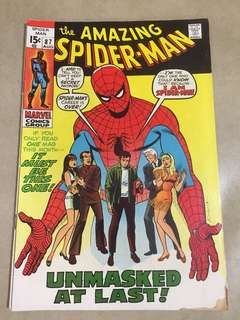 The Amazing Spider-Man no.87