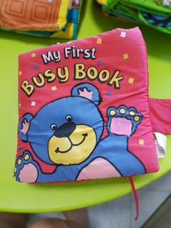 Baby Cloth Book, Washable