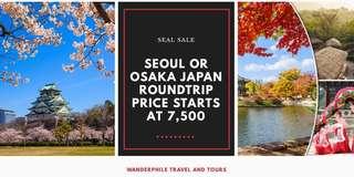 OSAKA JAPAN OR SEOUL KOREA