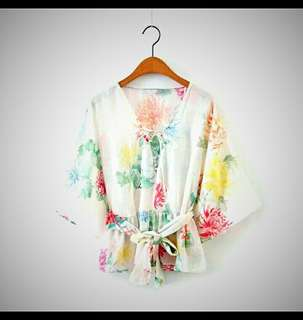 Zara inspired floral top
