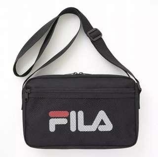 日雜 Fila 男女通用休閒運動包背包收納包 斜孭袋