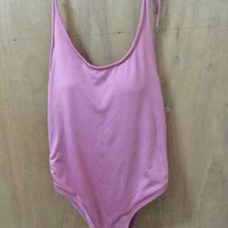 One Piece Swimsuit padded - Old Rose (muted Pink)