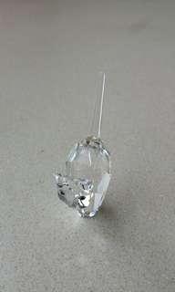 全新Swarovski 小貓水晶擺設