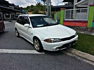 Proton Satria 1.3 Injection MT 2002 VIP PLAT NO