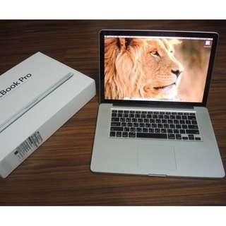 """【出售】Apple MacBook Pro 15"""" i7 四核心 頂規版 筆記型電腦"""