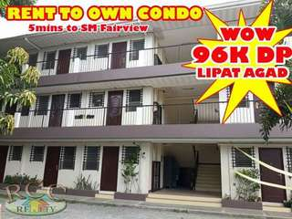 Rent to own Condo beside sm fairview