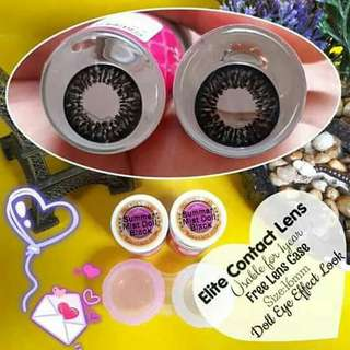 Elite contact lense with free case 😍