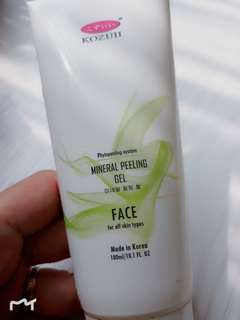 Konzui mineral peeling for face