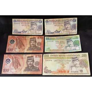 BRUNEI DOLLARS