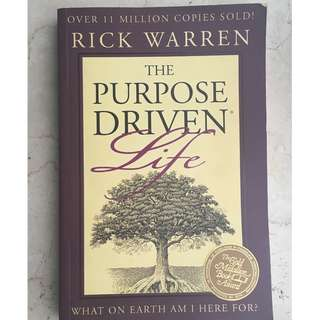 The Purpose-Driven Life - Rick Warren