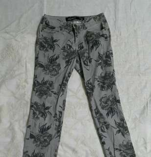 Floral Pants (zipped leg)