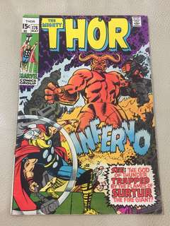 The Mighty Thor no.176