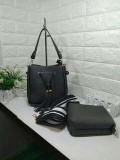 korean handbag 2in1