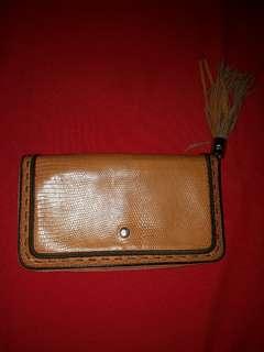 Lancel Zip Around Long Wallet Authentic