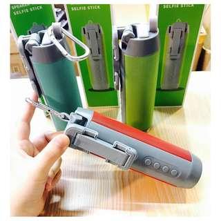 5in1 wireless Bluetooth speaker / monopod/ cp stand / camera shutters / flashlights