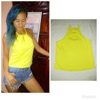 Trendy Yellow top (New)