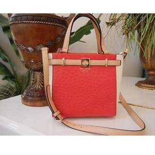 Kate Spade Bag WKRU3174 Leo Houston Street Exotic Lacquerred