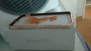 Iphone 6s plus box only and new one case