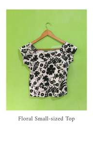 Floral Small-sized Top