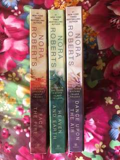 The Three Sisters Island Trilogy by Nora Roberts