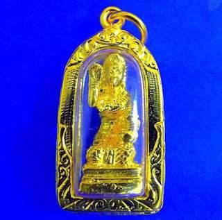 Mae Nang Kwak Amulet (Goddess of wealth) by Lp Sompong