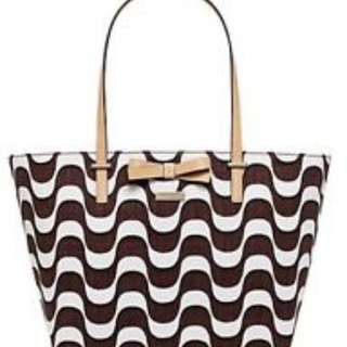Kate Spade Bag WKRU3145 South Poplar Street Francis Brown Painterly