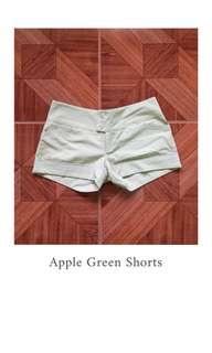 Apple Green Shorts