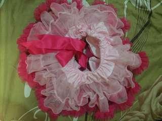 Pink cute tutu skirt