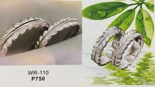 Wedding/Couple Ring - Italian Silver