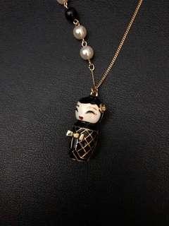 套娃珍珠長頸鏈