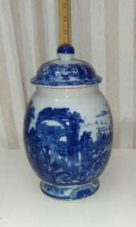 *Reduced* Blue and white porcelain ginger jar