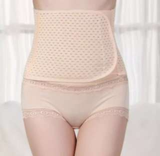 Postpartum ultra-thin breathable shaper belt
