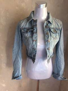 Denim 3/4 jacket