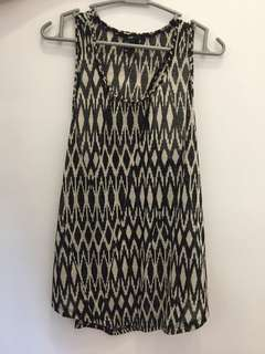H&M Sleeveless Aztec