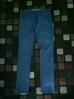Enemy FightWear Blue Skinny Jeans