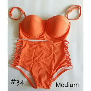 NWOT Two Piece High Waist Bikini Swimwear - Medium