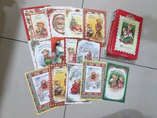 📣 Vintage Christmas Greetings cards & wish greeting cards